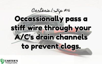 Energy Saving Tip #16