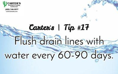 Energy Saving Tip #17