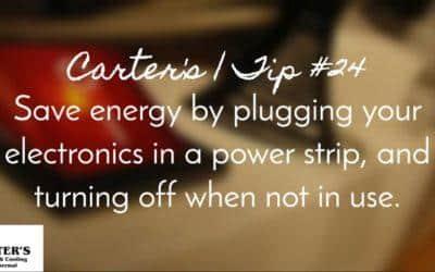 Energy Saving Tip #24