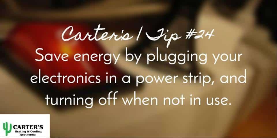energy efficent tips