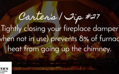 Energy Saving Tip #27