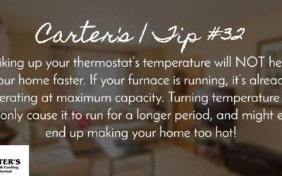 Energy Saving Tip #32