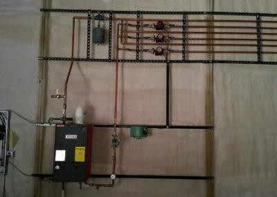 Infloor Heating for Storage Building