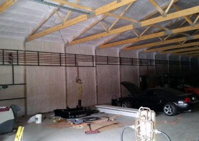 In floor heat for a customer's storage building 5