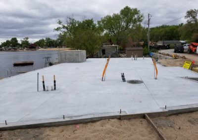 Infloor heat for new residential house at Hanson Lakes with concrete over the top2