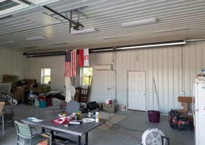 Installed a tube heater for heating the garage and mini split system for cooling the garage 2