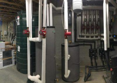 New construction home Boilers, geothermal, infloor heat, ductwork, exhaust fans, thermos