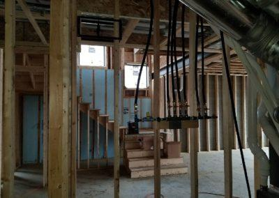 New construction home new furnaces and air conditioners, ductwork, humidifiers, gas (11)