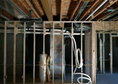 New construction home new furnaces and air conditioners, ductwork, humidifiers, gas (2)