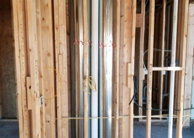 New construction home new furnaces and air conditioners, ductwork, humidifiers, gas (3)