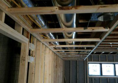 New construction home new furnaces and air conditioners, ductwork, humidifiers, gas (4)