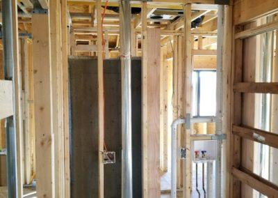New construction home new furnaces and air conditioners, ductwork, humidifiers, gas (5)