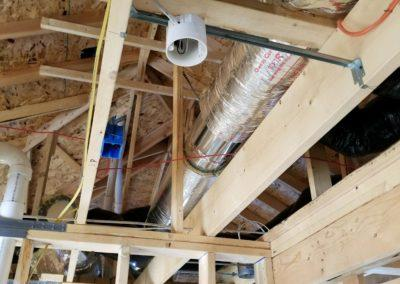 New construction home new furnaces and air conditioners, ductwork, humidifiers, gas (7)