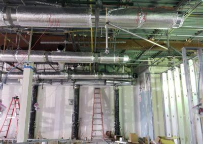 images of Pacific Nail Salon commercial project done by Carter's Heating & Cooling