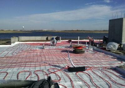 Radiant Floor Heat Job in Progress
