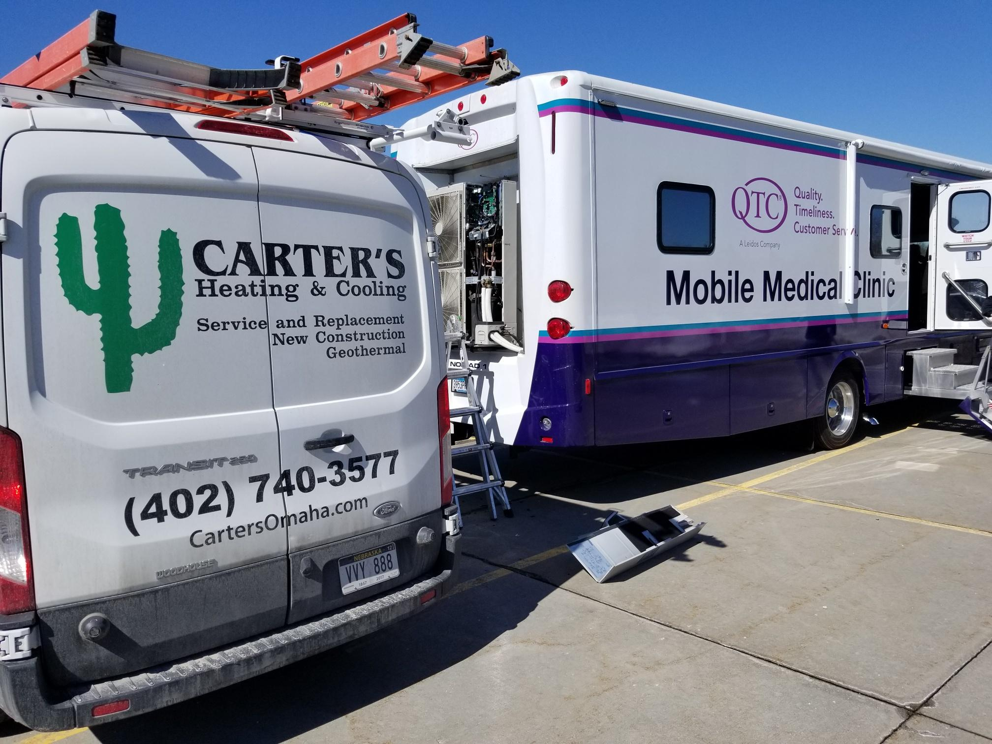 QTC Mobile Medical Clinic - Carter's Heating & Air Geothermal Systems