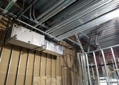 Starting an project for Wing Stop. Heating and cooling equipment, ductwork, kitchen hood equipment.3