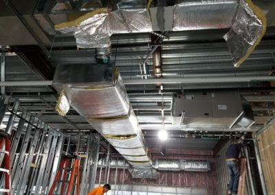 Starting an project for Wing Stop. Heating and cooling equipment, ductwork, kitchen hood equipment1