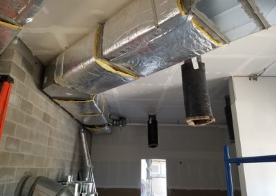 bark club insulating ductwork 2