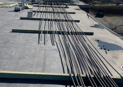 gas lines at cedarwood apartments