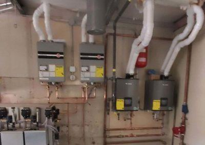 new boilers for in floor heat