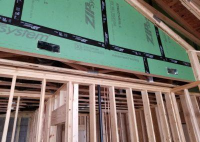 new construction lake home duct work, infloor heat, geothermal, gas lines, garage h (2)