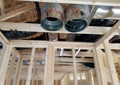 new construction lake home duct work, infloor heat, geothermal, gas lines, garage h (3)