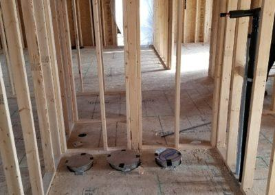 new construction lake home duct work, infloor heat, geothermal, gas lines, garage h (4)