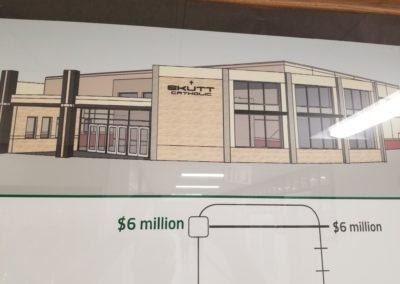 picture of future main entrance skutt