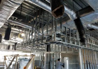 Carters HVAC Portfolio commercial project at Wing Stop